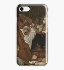 Johann Friedrich Grueber - Still Life iPhone Case/Skin