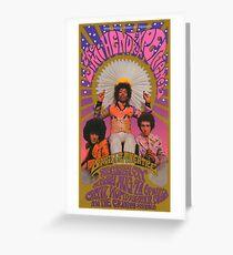 Vintage 60's Concert Greeting Card