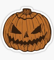 Scary Jack-O Sticker