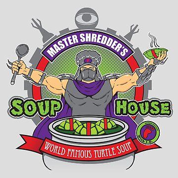 TMNT Master Shredder's Soup House by halegrafx
