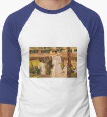 Joaquin Sorolla Y Bastida - The Garden Men's Baseball ¾ T-Shirt
