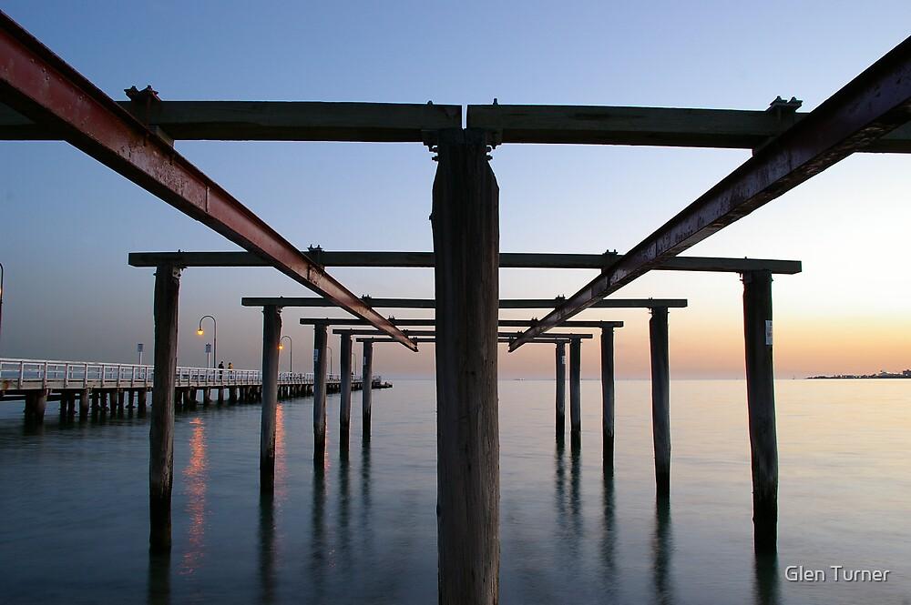 Old Pier by Glen Turner
