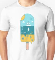 Melted landscape T-Shirt