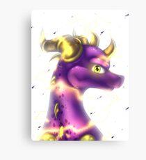 Spyro - Shocking Canvas Print