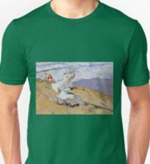 Joaquin Sorolla Y Bastida - Capturing The Moment1906 Unisex T-Shirt
