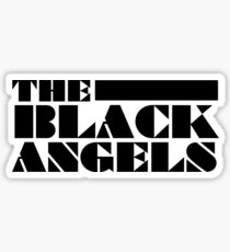 The Black Angels • Black Sticker