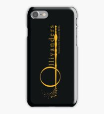Ollivanders Logo in Yellow iPhone Case/Skin