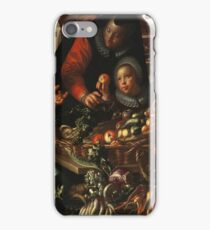Joachim Wtewael - The Fruit And Vegetable Seller iPhone Case/Skin
