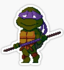 pixel turtle3 Sticker