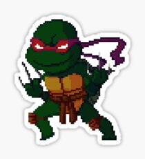 pixel turtle4 Sticker