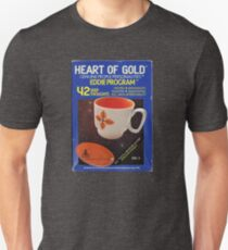 Heart of Gold - Eddie Program Slim Fit T-Shirt
