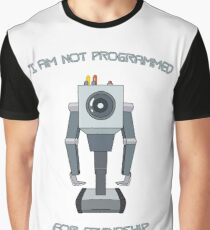 Rick and Morty – I Am Not Programmed for Friendship Graphic T-Shirt