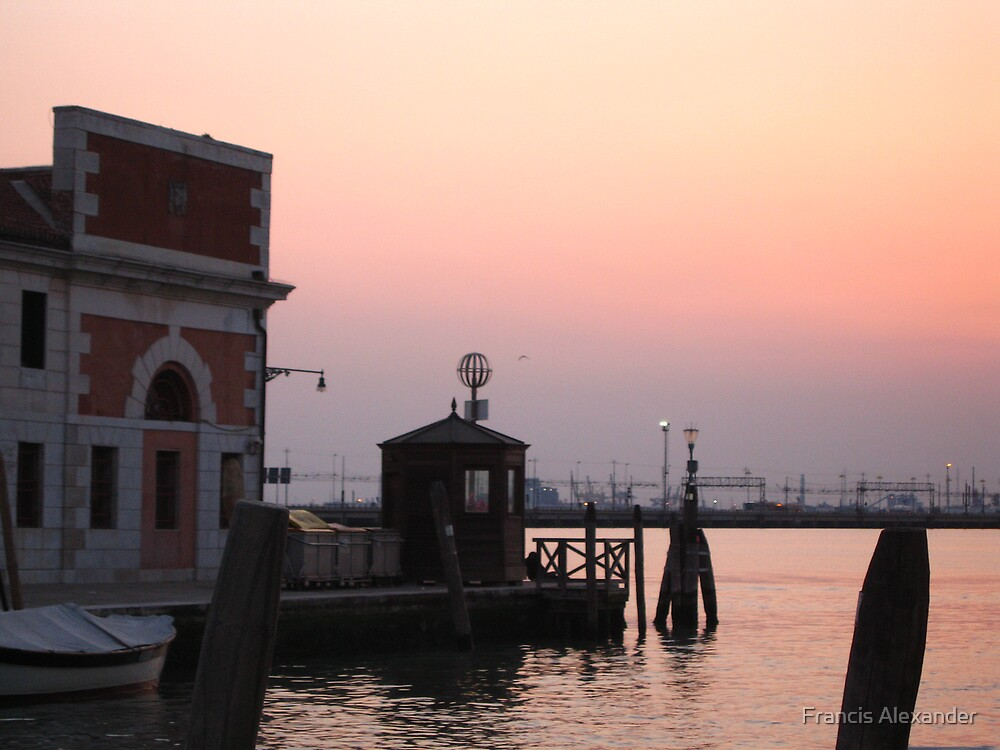 Venice - the past makes way for modern needs by Francis Alexander