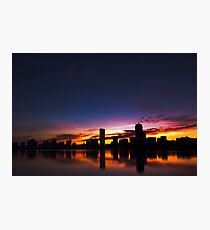 Sunrise Along the Charles Photographic Print