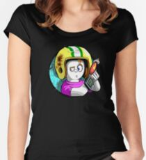 Commander Keen Women's Fitted Scoop T-Shirt