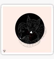 Remus's nightmares -Padfoot Sticker