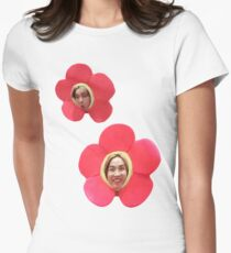 Flower J-Hope || BTS Womens Fitted T-Shirt