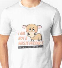 I AM NOT A WASTE PRODUCT! Vegan Unisex T-Shirt