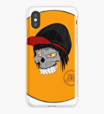skater skull iPhone Case/Skin