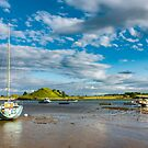 Boats at Alnmouth by David Patterson
