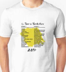 Tour de Yorkshire 2014 Front T-Shirt