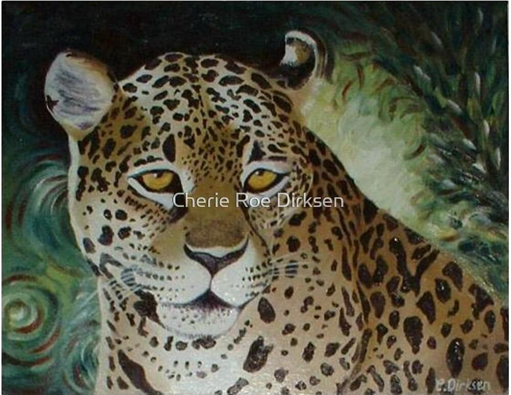 Leopard Intensity by Cherie Roe Dirksen