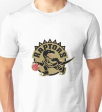 Toronto Raptors Black & Gold Unisex T-Shirt