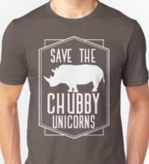 Save The Chubby Unicorns T-Shirt Funny Unicorn Shirt Unisex T-Shirt