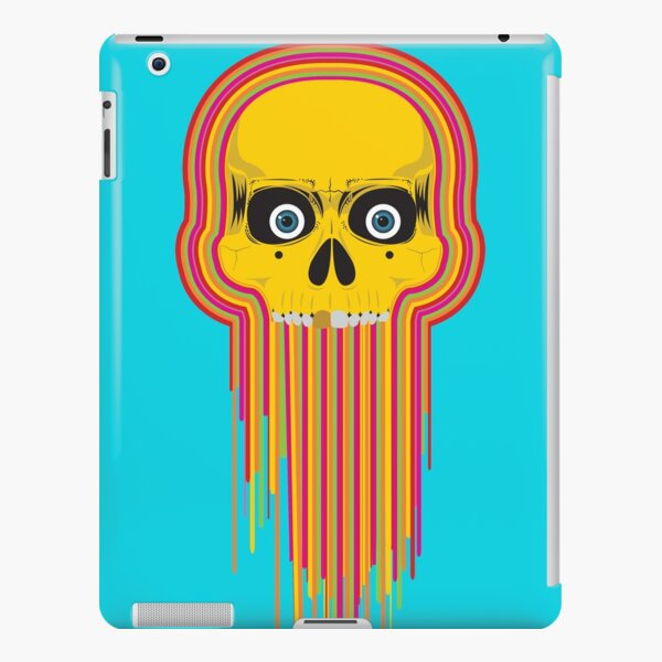 The Incredible Melting Skull iPad Snap Case