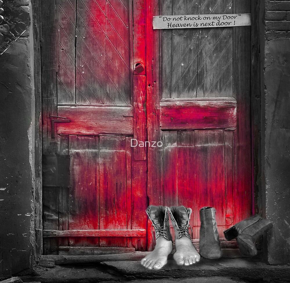 Red door by Danzo