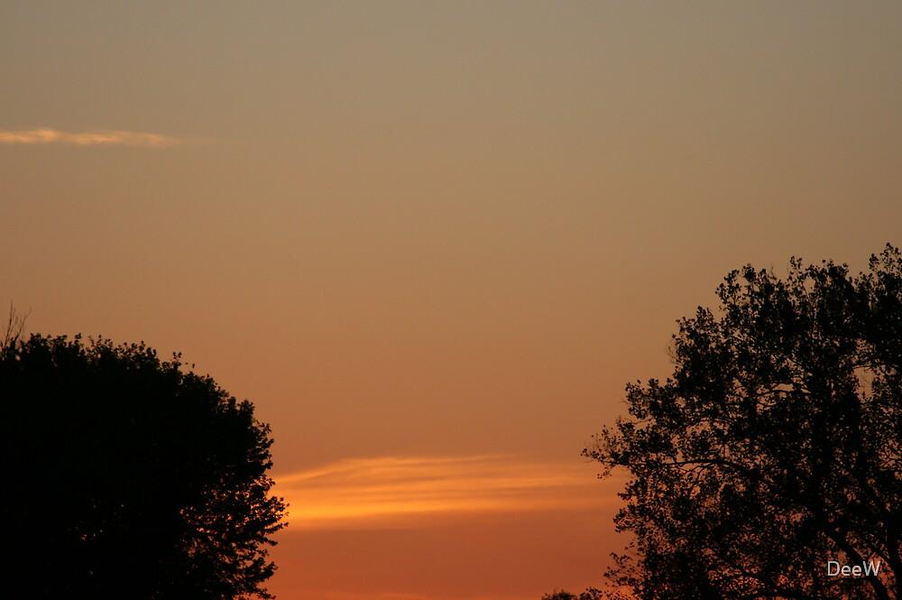 Sunset by DeeW