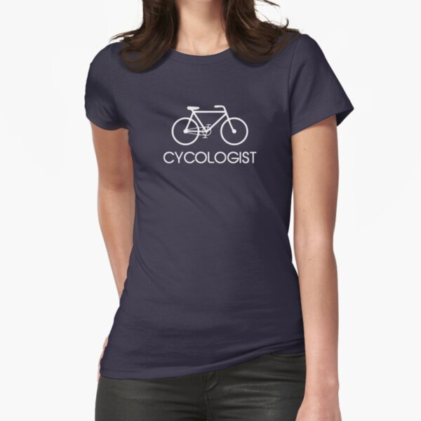 Cycologist Cycling Cycle Fitted T-Shirt