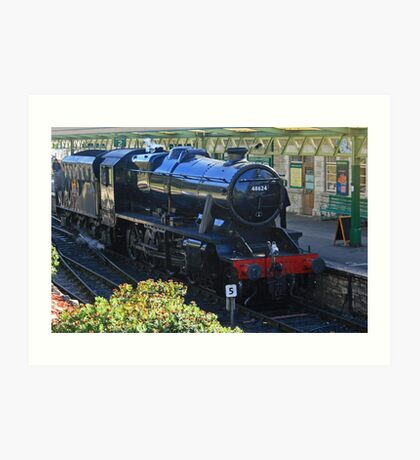 Stanier 8F at Swanage Art Print