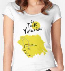 Tour de Yorkshire Women's Fitted Scoop T-Shirt