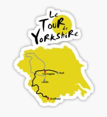 Tour de Yorkshire Sticker