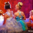Dance Rehearsal - Waiting for Their Turn by Bunny Clarke