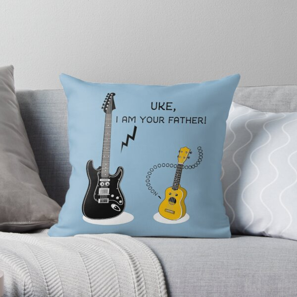Uke, I am your Father! Throw Pillow