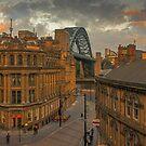 Newcastle cityscape by David Patterson
