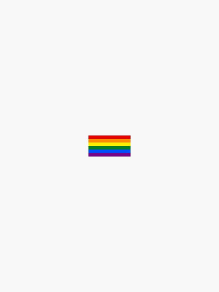Regenbogen-Stolz-Flagge von pixiedustprince
