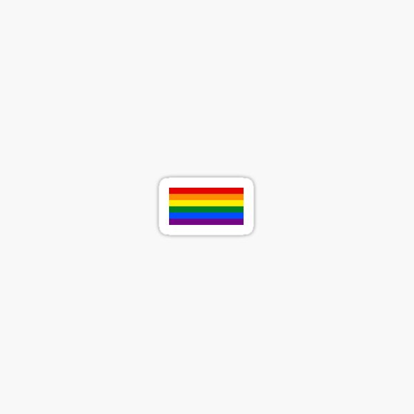 Rainbow Pride Flag Sticker