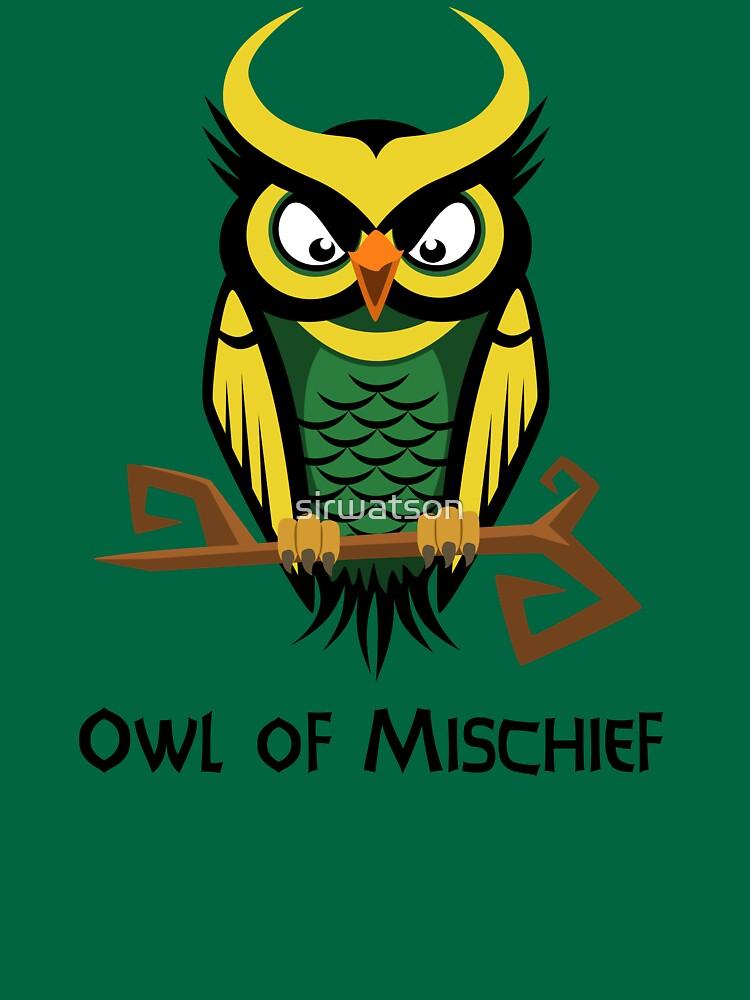 Owl of Mischief | Unisex T-Shirt