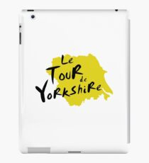 Le Tour de Yorkshire 3 iPad Case/Skin