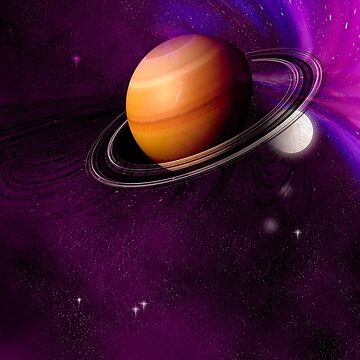 An unknown planet in space. by fotokatt