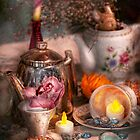 Tea Party - I would love to have some tea  by Michael Savad
