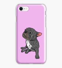 Side Sit French Bull Terrier iPhone Case/Skin