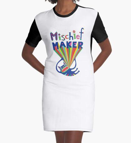 Mischief Maker Graphic T-Shirt Dress