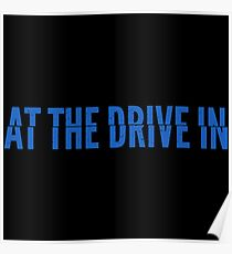 At the Drive-in • Blue Poster