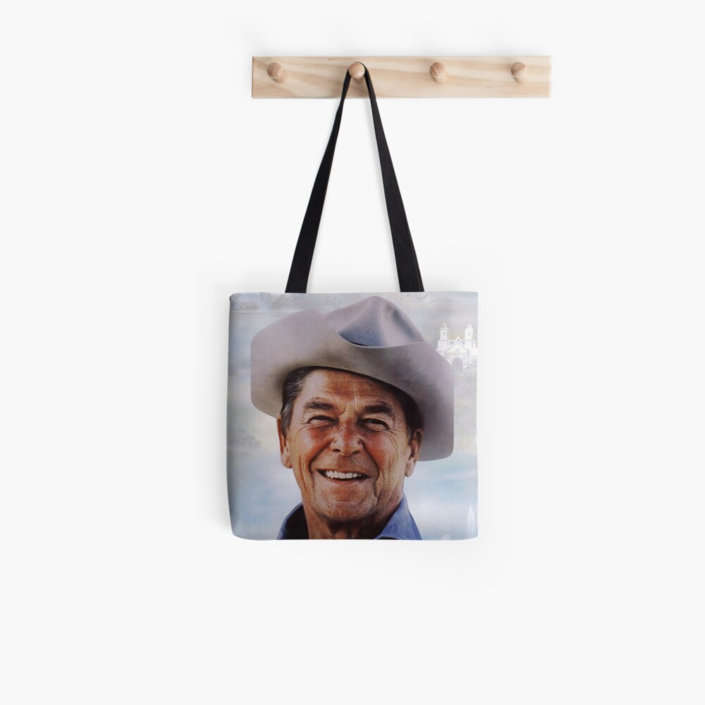 America Reagan Country - Vintage 1980s Campaign Poster Tote Bag