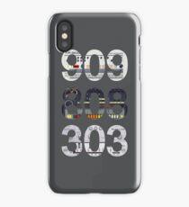 Roland 909 808 303 Classic Synth & Drum Machine iPhone Case