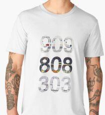 Roland 909 808 303 Classic Synth & Drum Machine Men's Premium T-Shirt